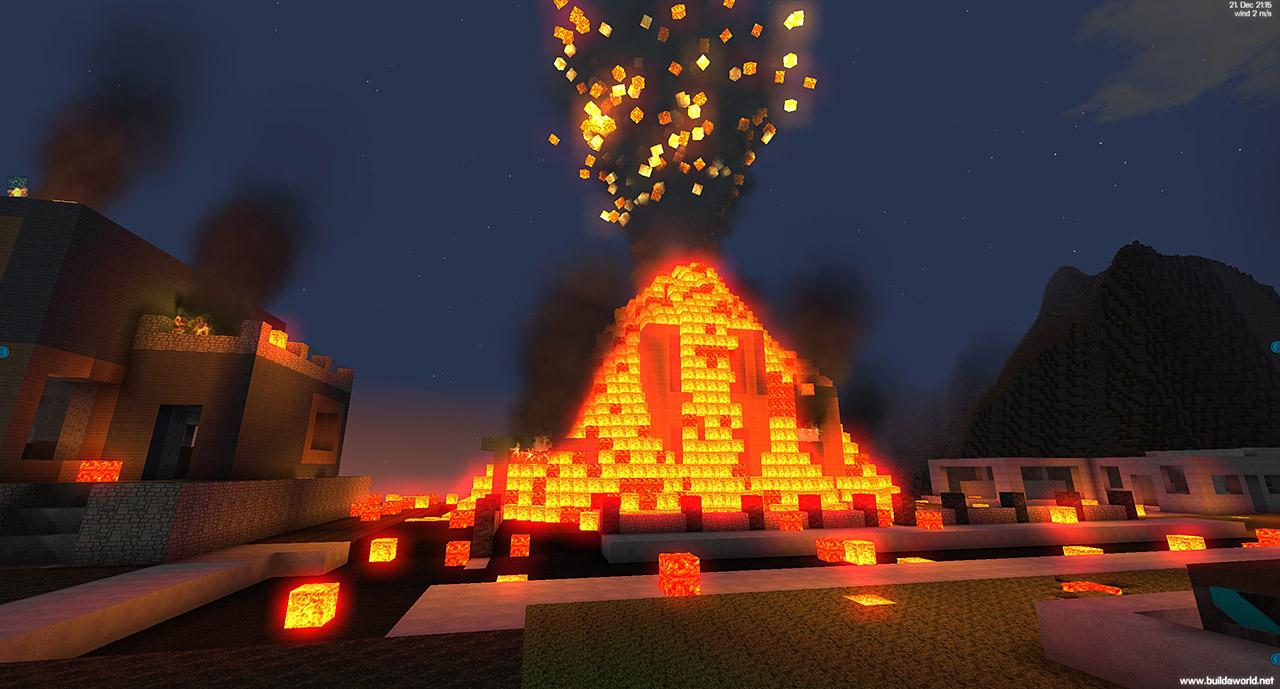 kæmpe minecraft hus